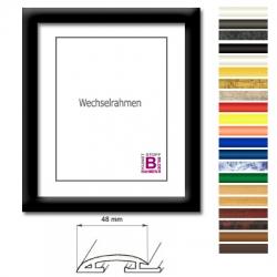 bilderrahmen 70x120 modern kunststoffrahmen kunststoff. Black Bedroom Furniture Sets. Home Design Ideas
