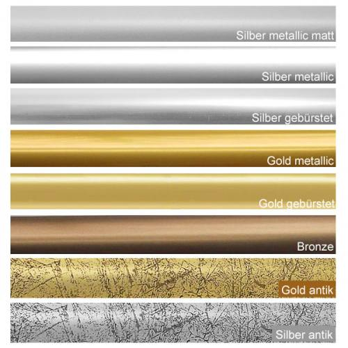 Farbauswahl III - silber, gold