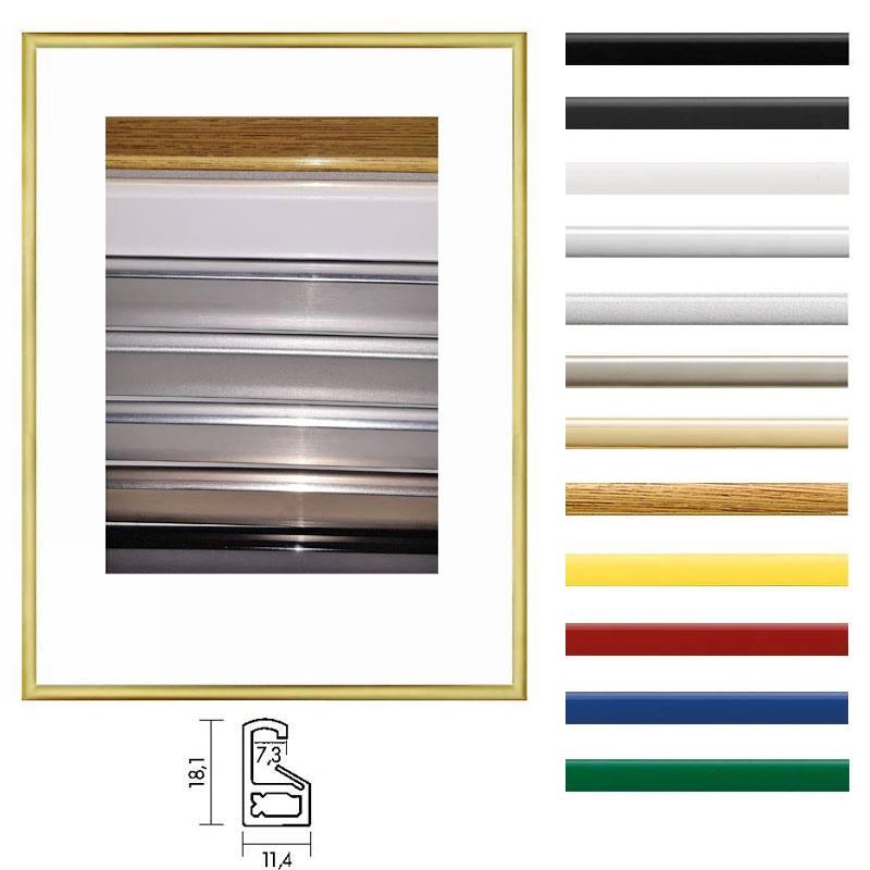 kunststoff bilderrahmen 70 x 100 cm profilbreite 7 mm online kaufen. Black Bedroom Furniture Sets. Home Design Ideas