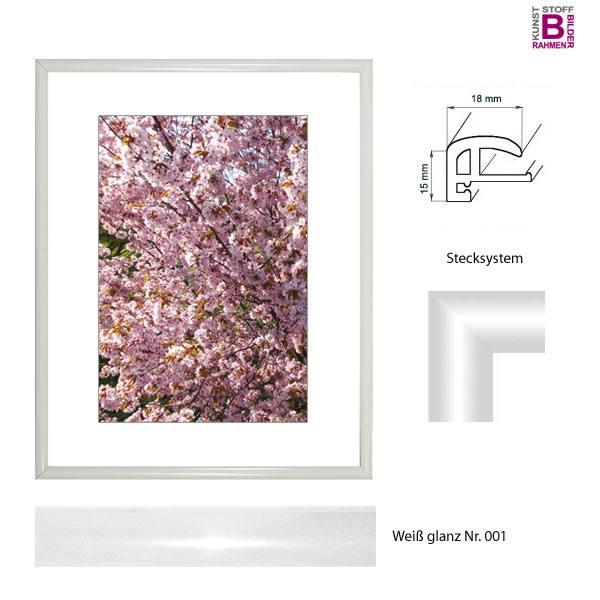 kunststoff bilderrahmen 10 x 30 cm elegance kunststoffrahmen. Black Bedroom Furniture Sets. Home Design Ideas