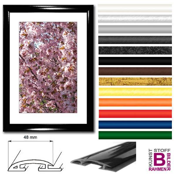 bilderrahmen 50x150 cm modern kunststoffrahmen. Black Bedroom Furniture Sets. Home Design Ideas