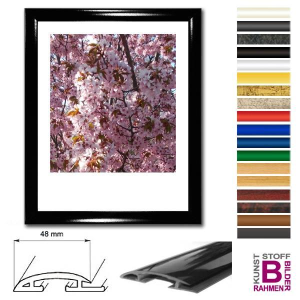 bilderrahmen 50x60 cm modern kunststoffrahmen. Black Bedroom Furniture Sets. Home Design Ideas