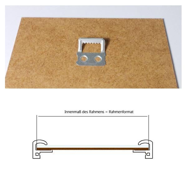 bilderrahmen 50x70 cm elegance kunststoffrahmen. Black Bedroom Furniture Sets. Home Design Ideas