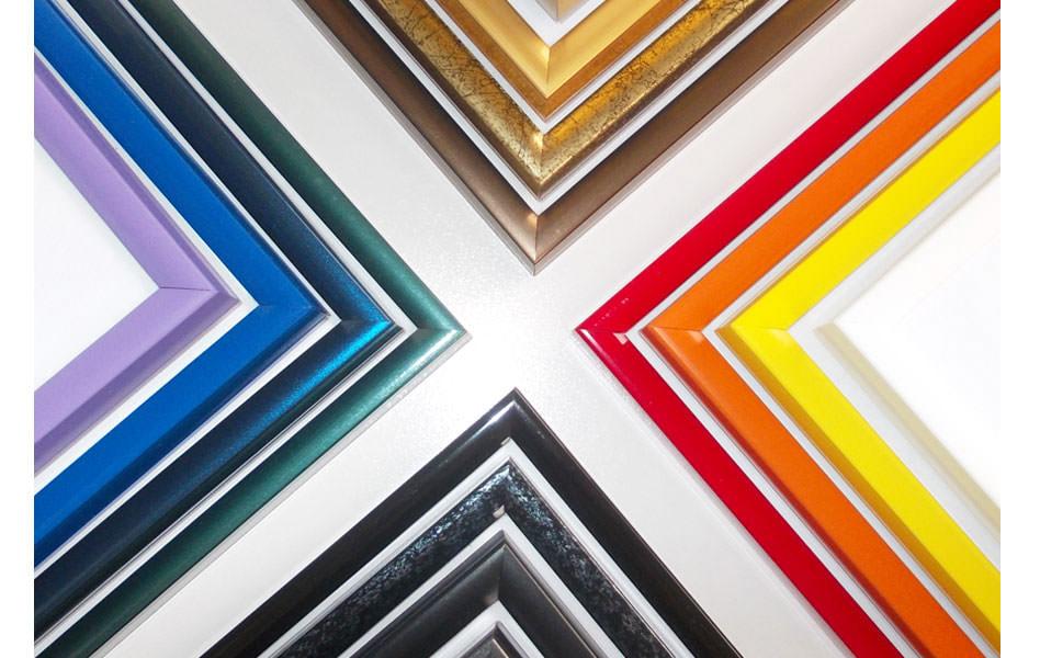 Bilderrahmen für Malen nach Zahlen Bilder und Puzzles